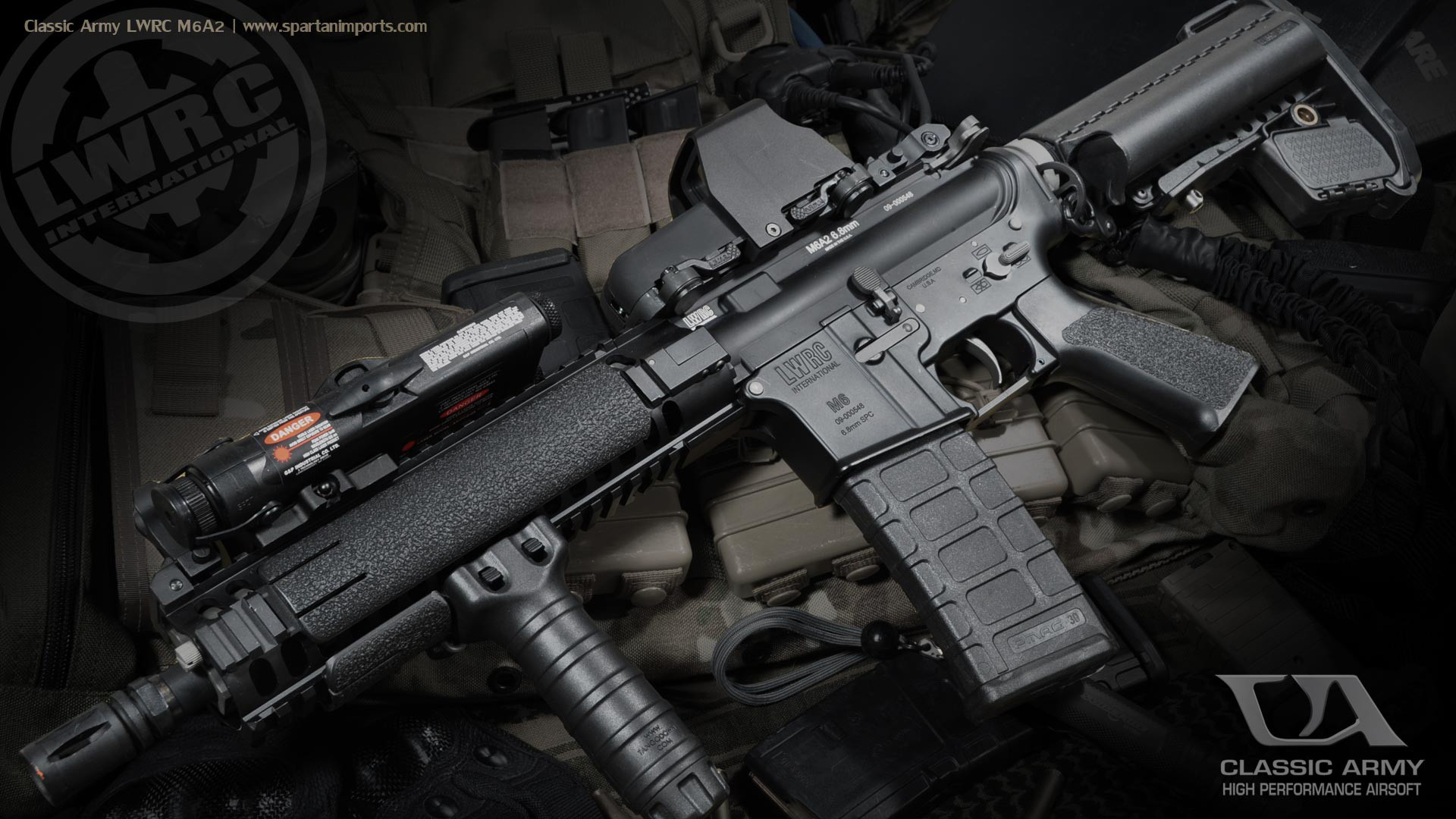 rifles weapons airsoft Combat Arms carbine firearms M6A2 1920x1080