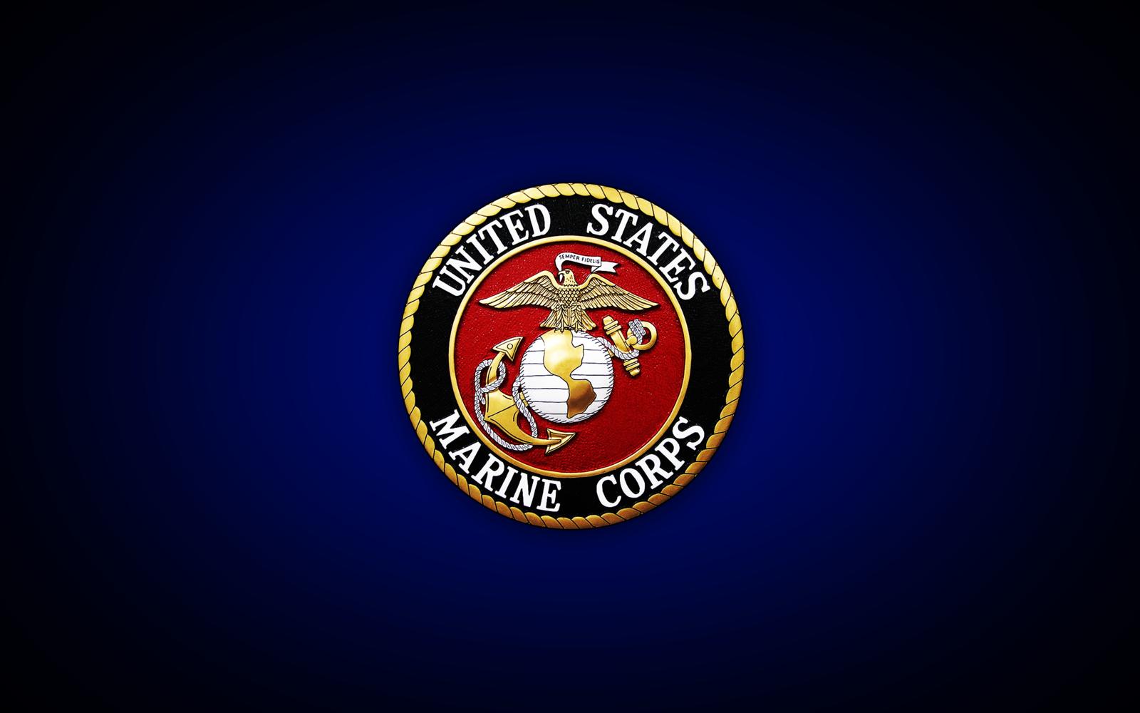 Cool Marine Backgrounds Usmc united states marine 1600x1000