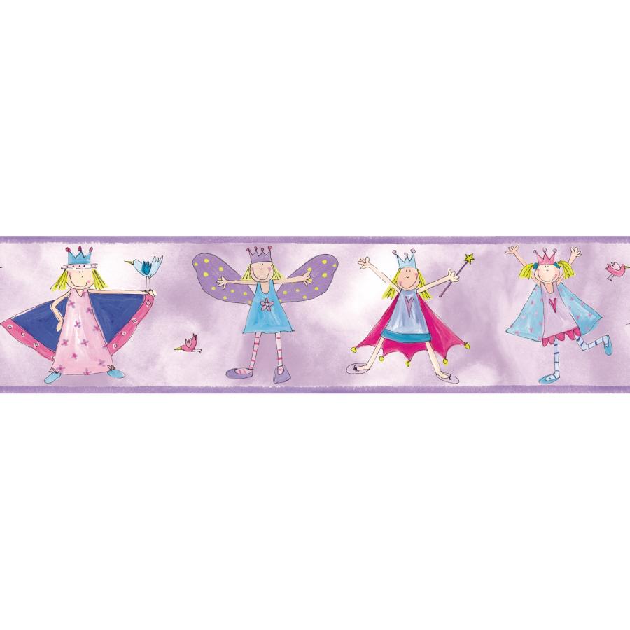 Shop RoomMates Fairy Princess Peel and Stick Border at Lowescom 900x900