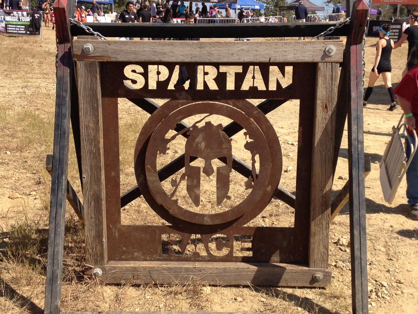 Spartan Race Wallpaper Spartan race sign 1632x1224