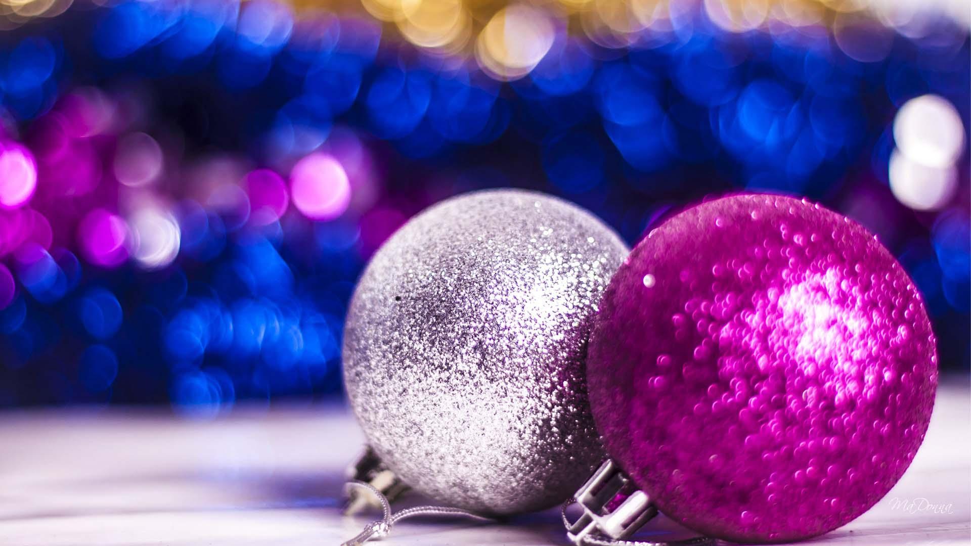 Popular Christmas blue pink christmas 2014 1920x1080