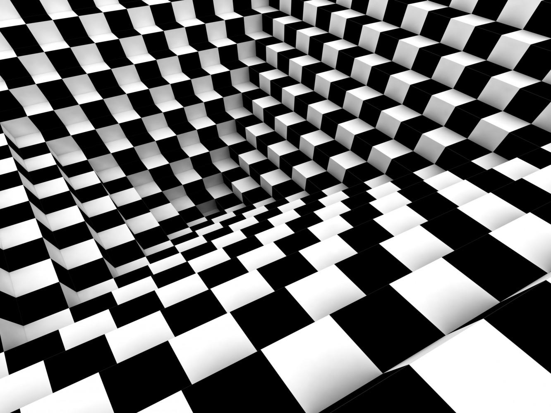 Free Download Wall Mural Wallpaper Chess Pattern 3d Effect