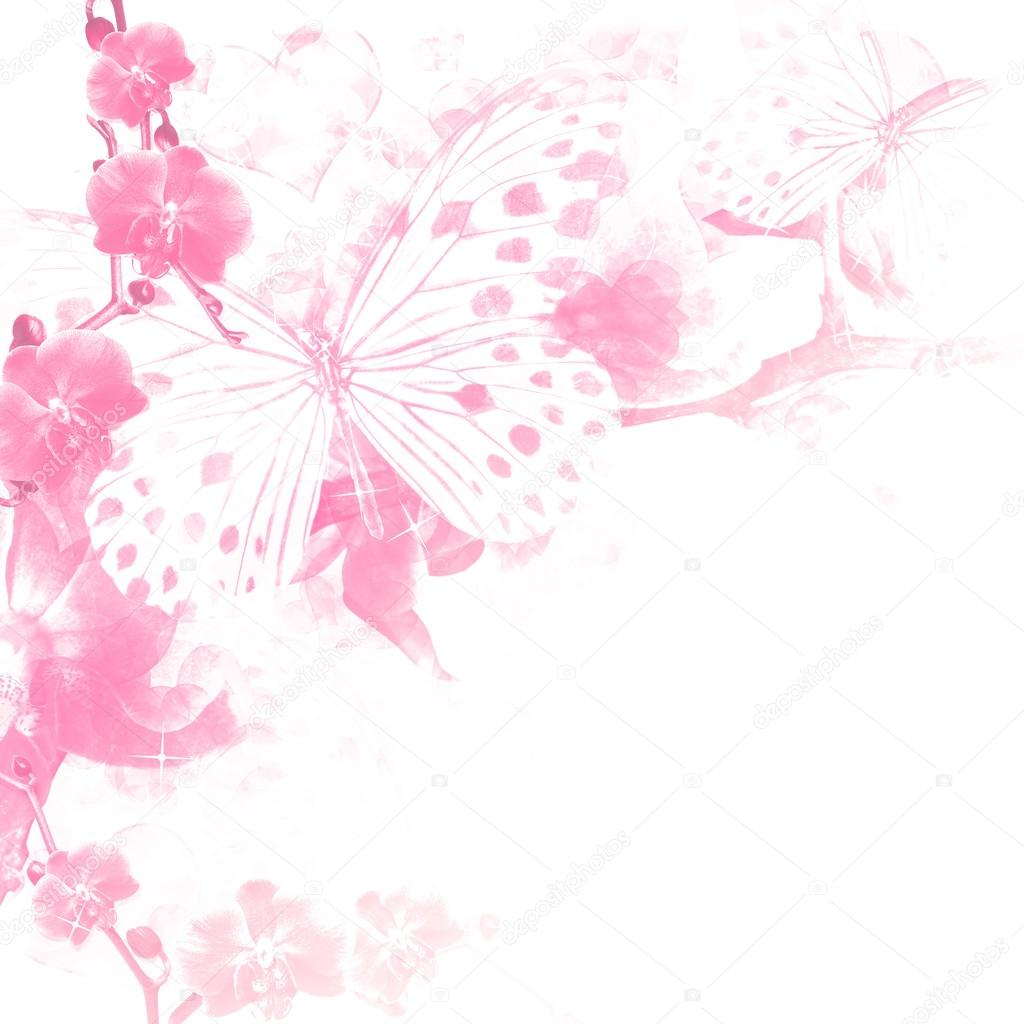 Pink Butterfly Wallpaper: Pink Butterfly Backgrounds