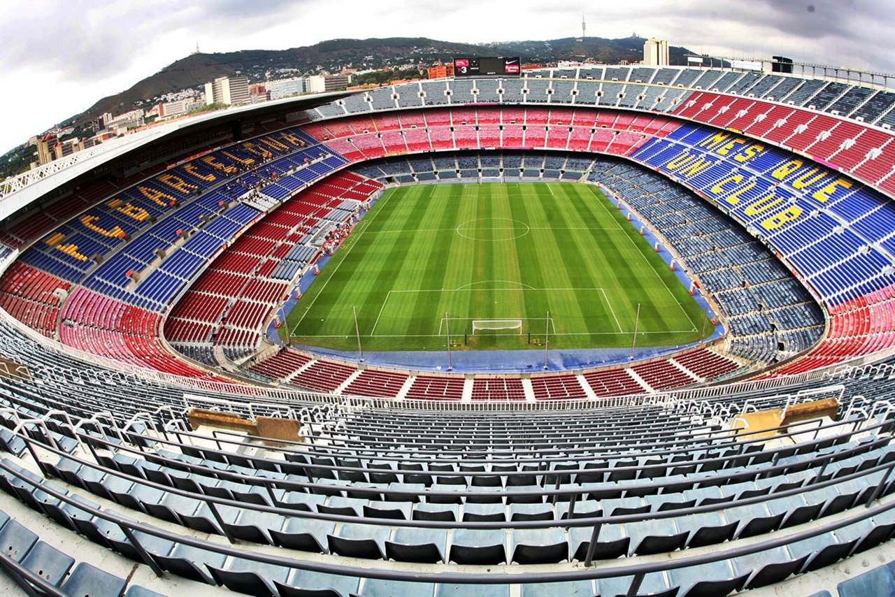 Camp Nou Stadium Wallpaper HD Wallpaper 1280x854