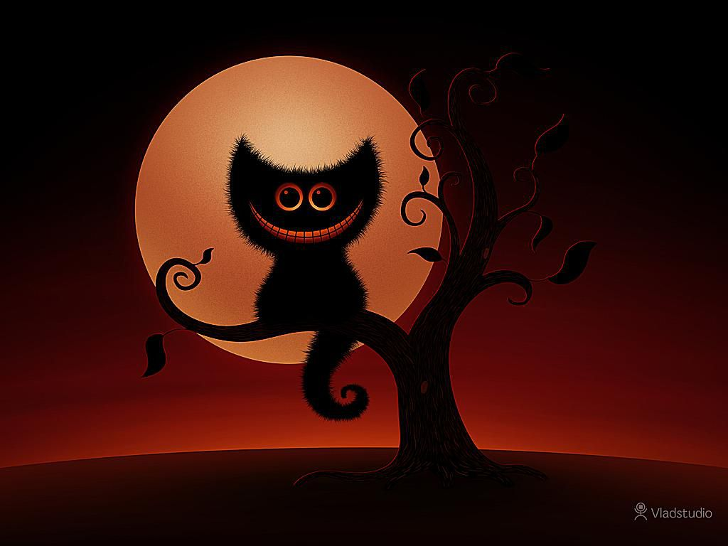 45 Spooky and Fun Halloween Wallpapers 1024x768