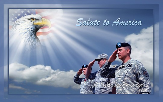 Salute to America   Wallpapers from TheHolidaySpot 541x338