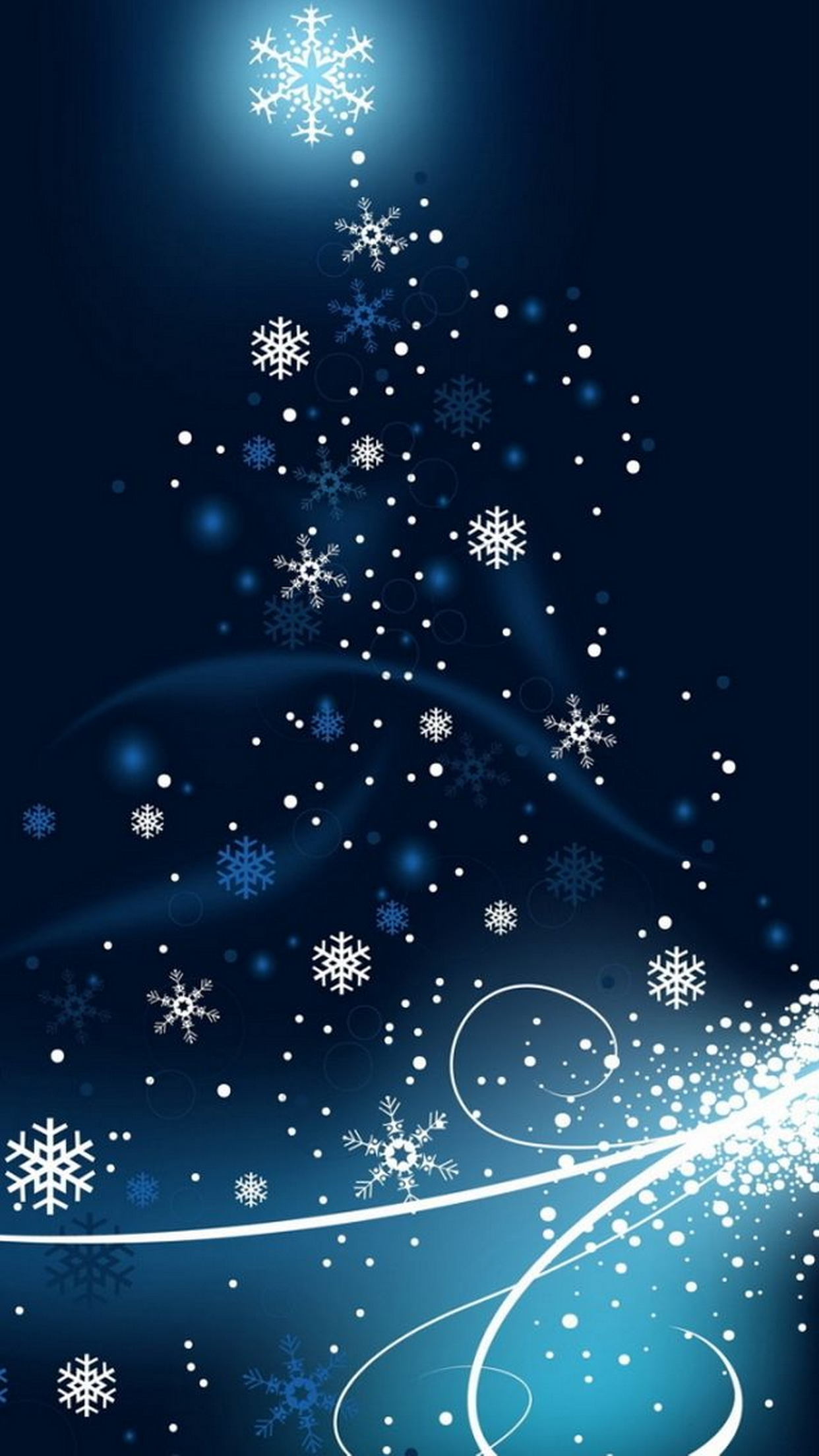 32 Christmas Wallpapers for iPhones 1242x2208