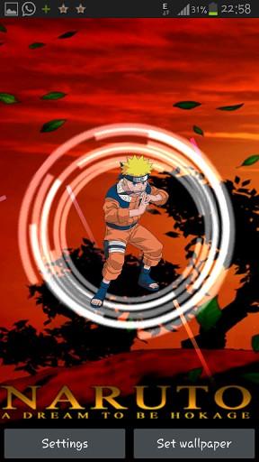 Naruto Rasengan Live Wallpaper 288x512