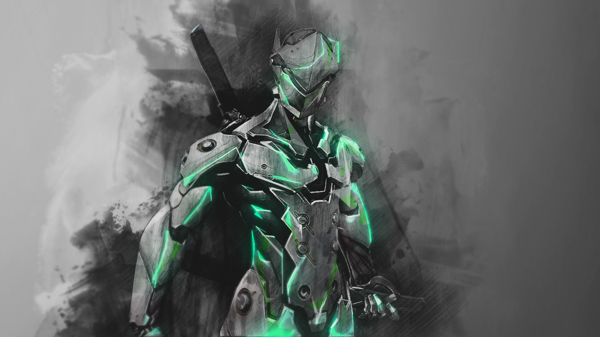 Genji Wallpapers   Top Genji Backgrounds   WallpaperAccess 1920x1080