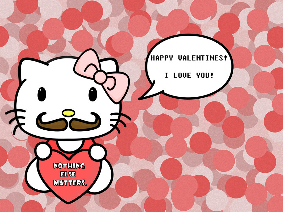 valentines day hello kitty by Earcl01 900x675