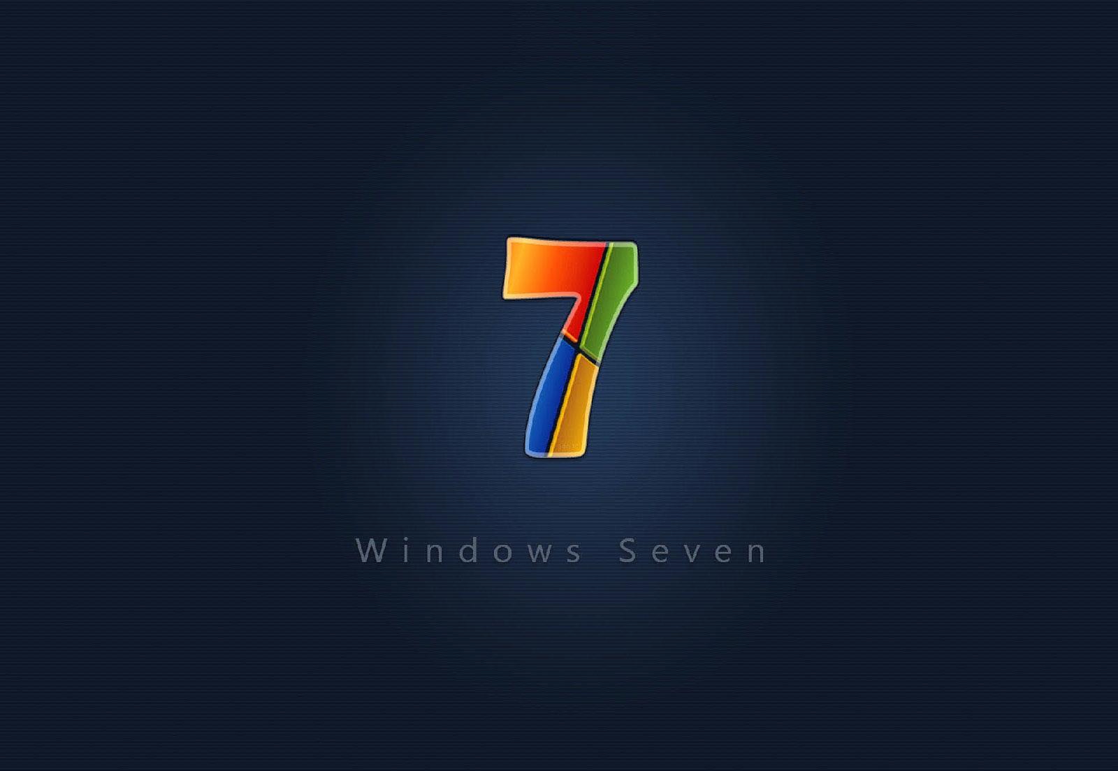 Cool Logo Backgrounds Seven cool windows 7 wallpaper 1600x1104