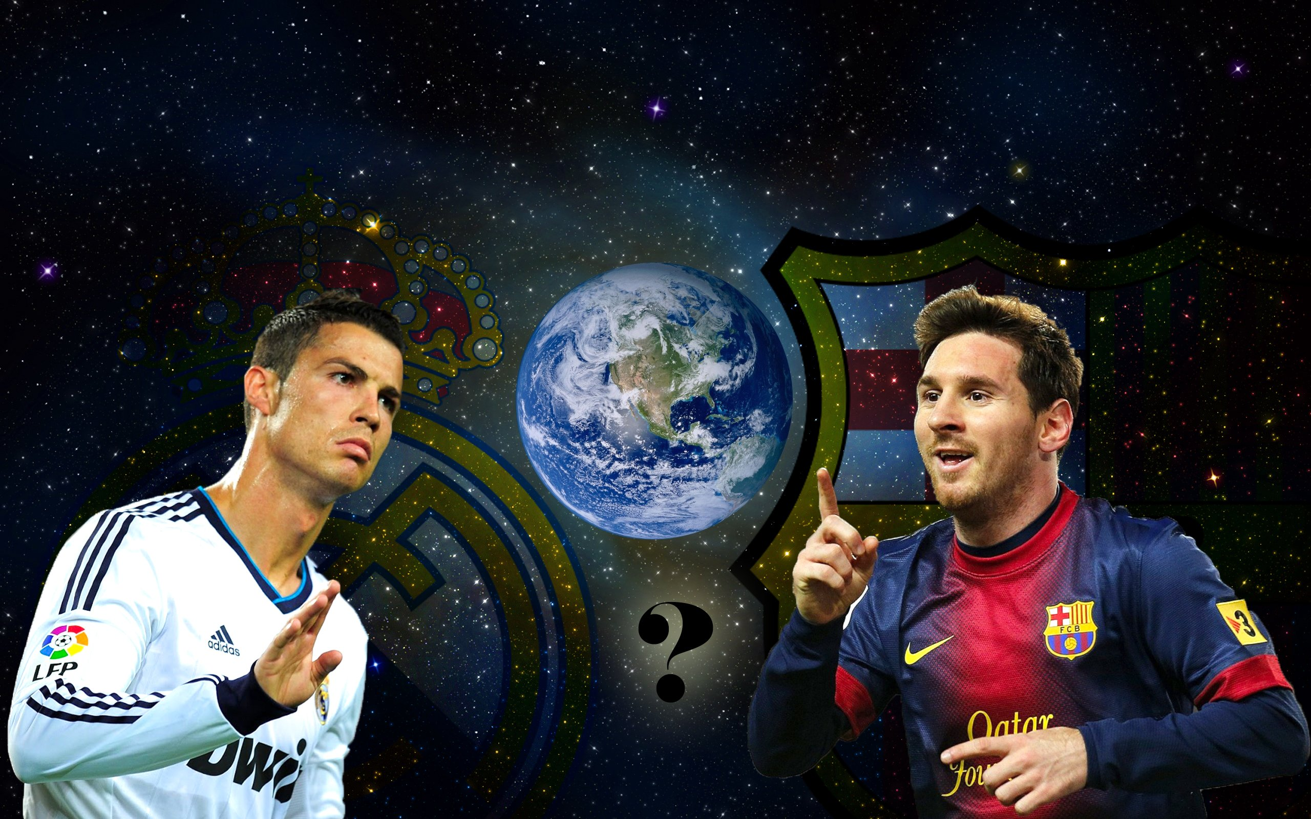 LIONEL MESSI VS CRISTIANO RONALDO wallpaper   ForWallpapercom 2560x1600