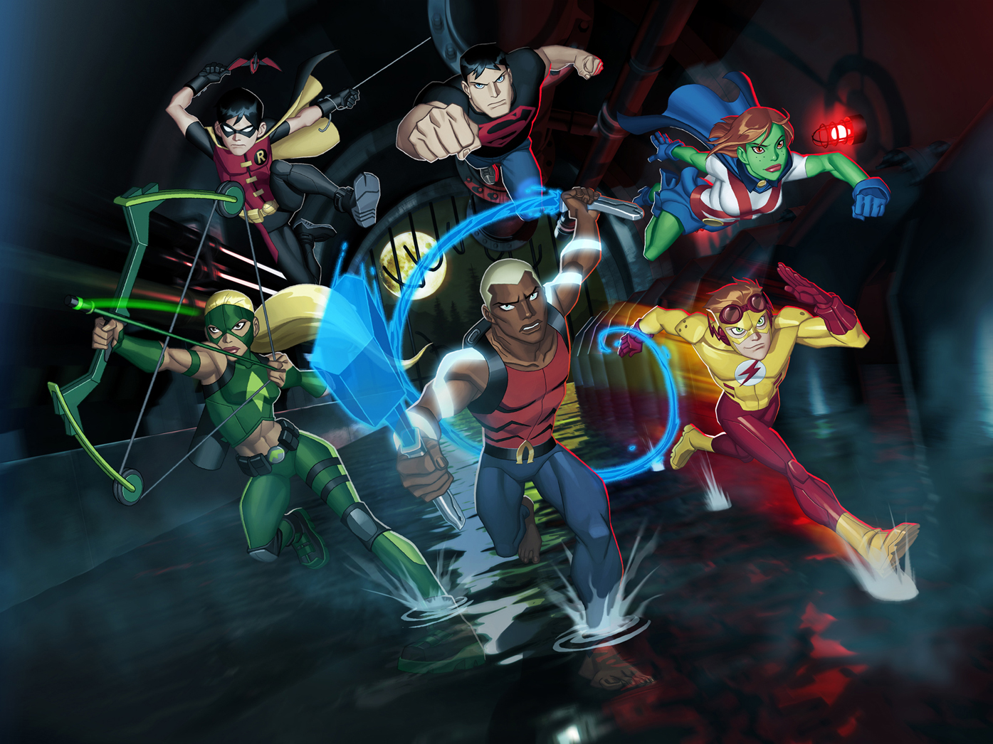 Young Justice 2012 Wallpaper   Superman Images Gallery 1395x1046