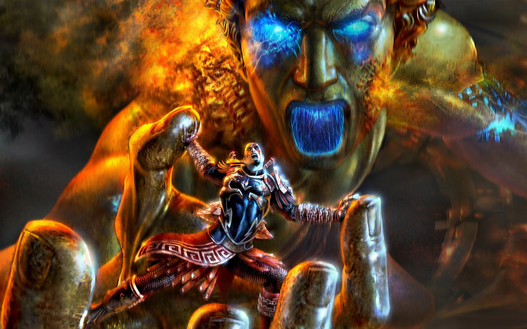 God of War 3   HD Wallpapers Widescreen   1680x1050 1680x1050