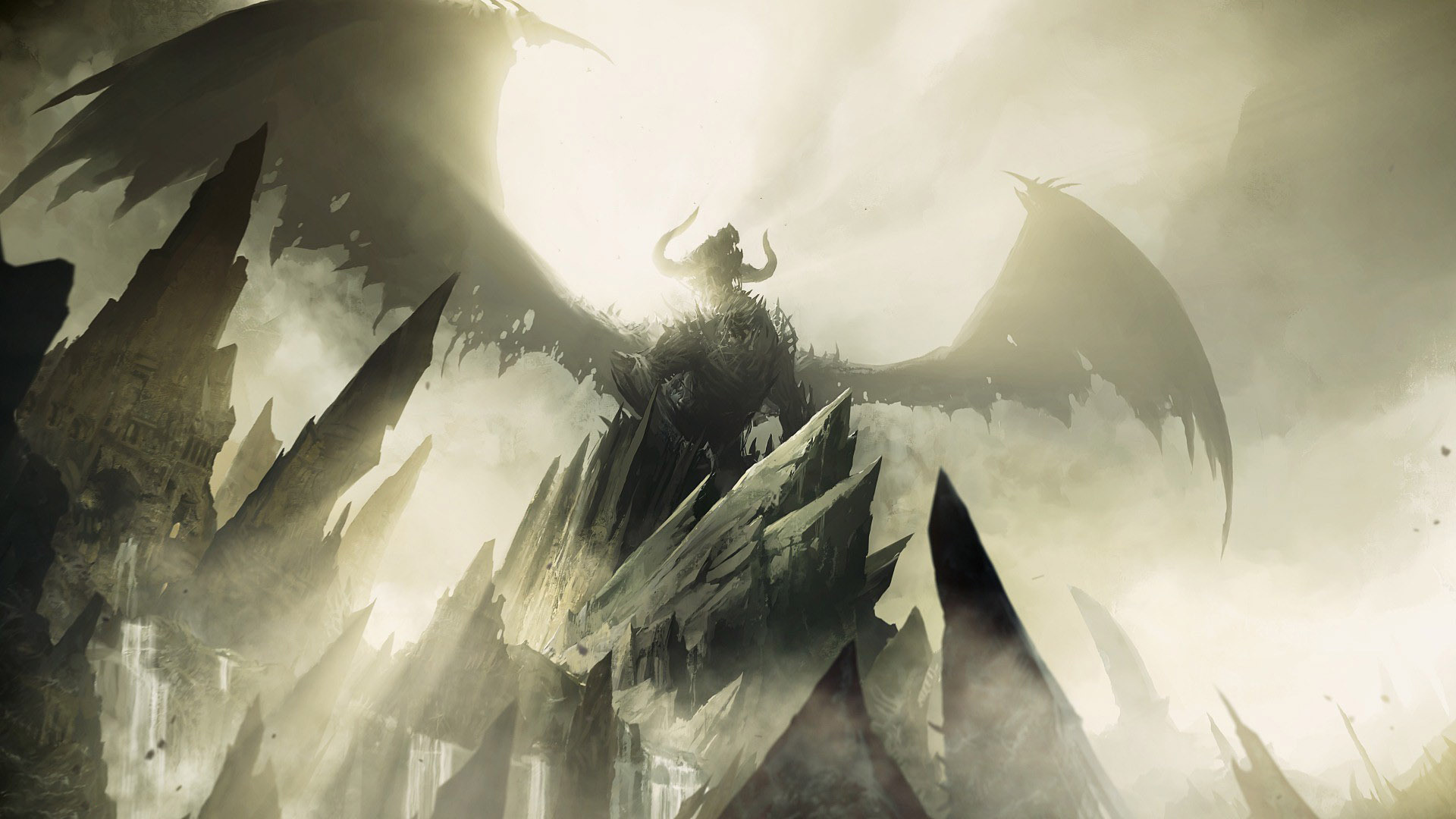 Free Download Guild Wars 2 Dragon Wallpaper 122957 1920x1080 For