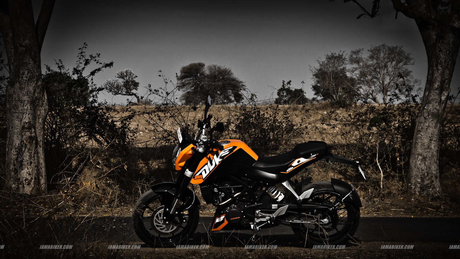 KTM Duke 200 HD wallpapers 1920x1080