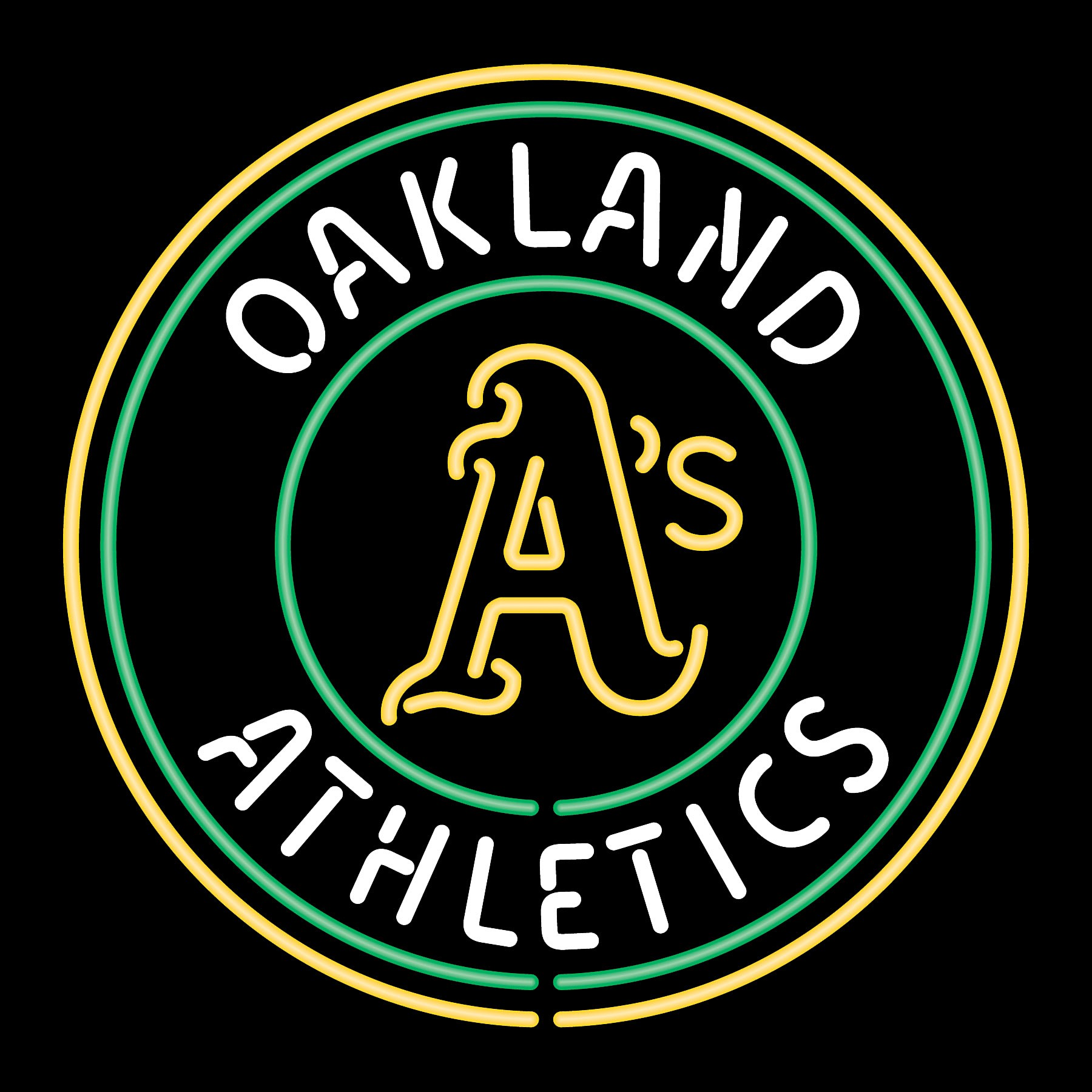 oakland athletics neon signjpg 1800x1800