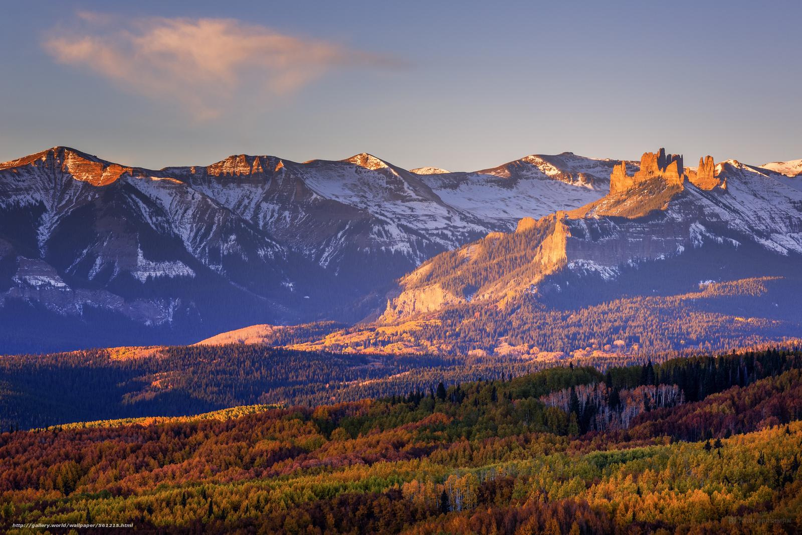 Red Mountain, Uncompahgre National Forest, Colorado  № 1563836 бесплатно