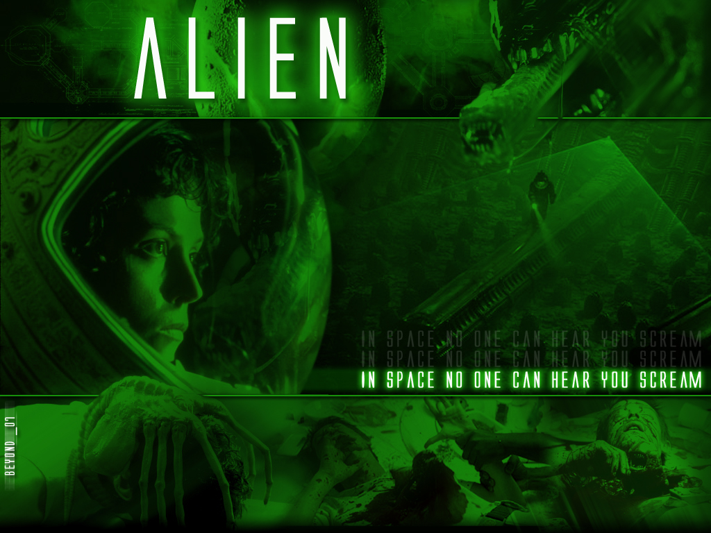 alien wallpaper 1024x768