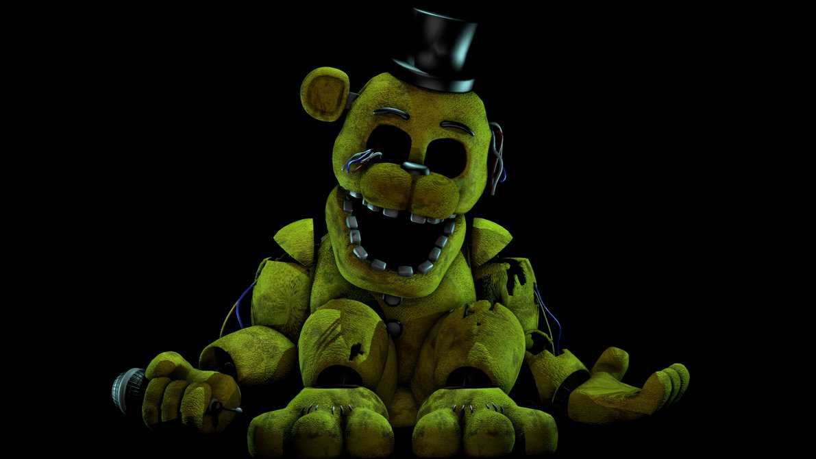 98+] Golden Freddy Wallpapers on WallpaperSafari