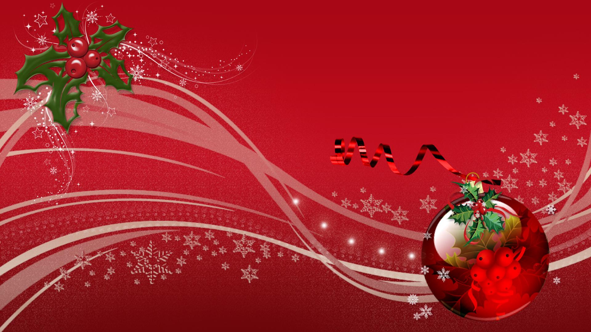 Red Christmas Screensavers 8401 1920 x 1080 1920x1080