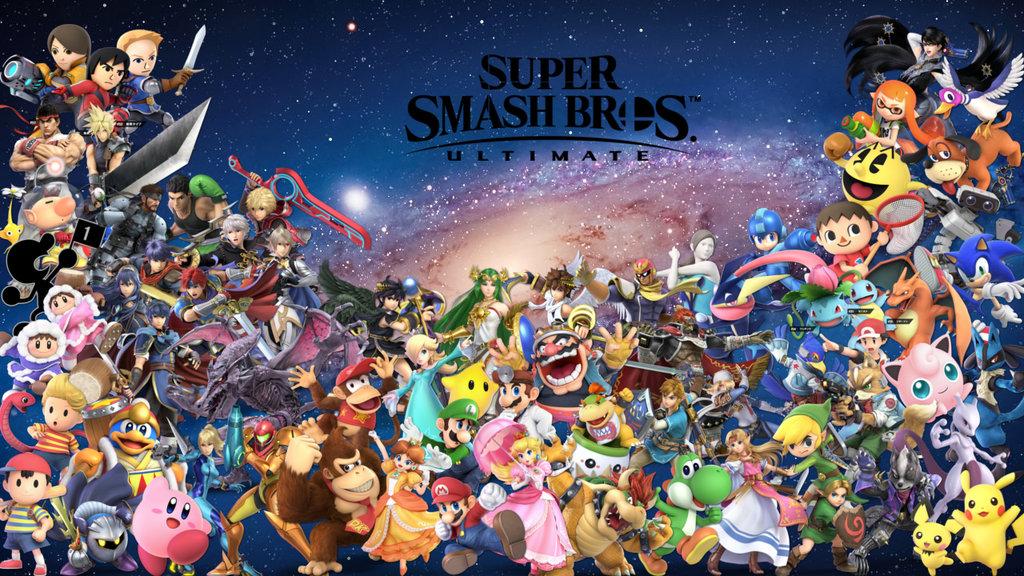 45+] Smash Bros Ultimate Wallpapers on