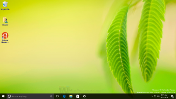 Windows 10 wallpaper is set in Windows 10 not activated 600x338