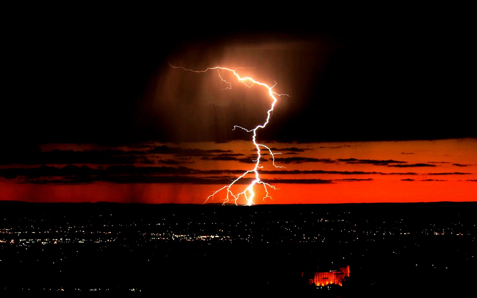 Wallpapers ⇒ Landscape ⇒ Thunderstorm Wallpapers
