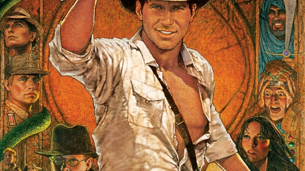 INDIANA JONES RAIDERS LOST ARK action adventure poster f wallpaper 1244x700