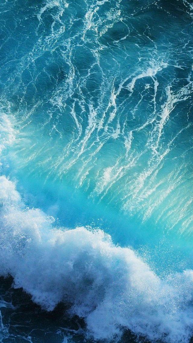 Pulse Waves iPhone Wallpaper   iDrop News 640x1136