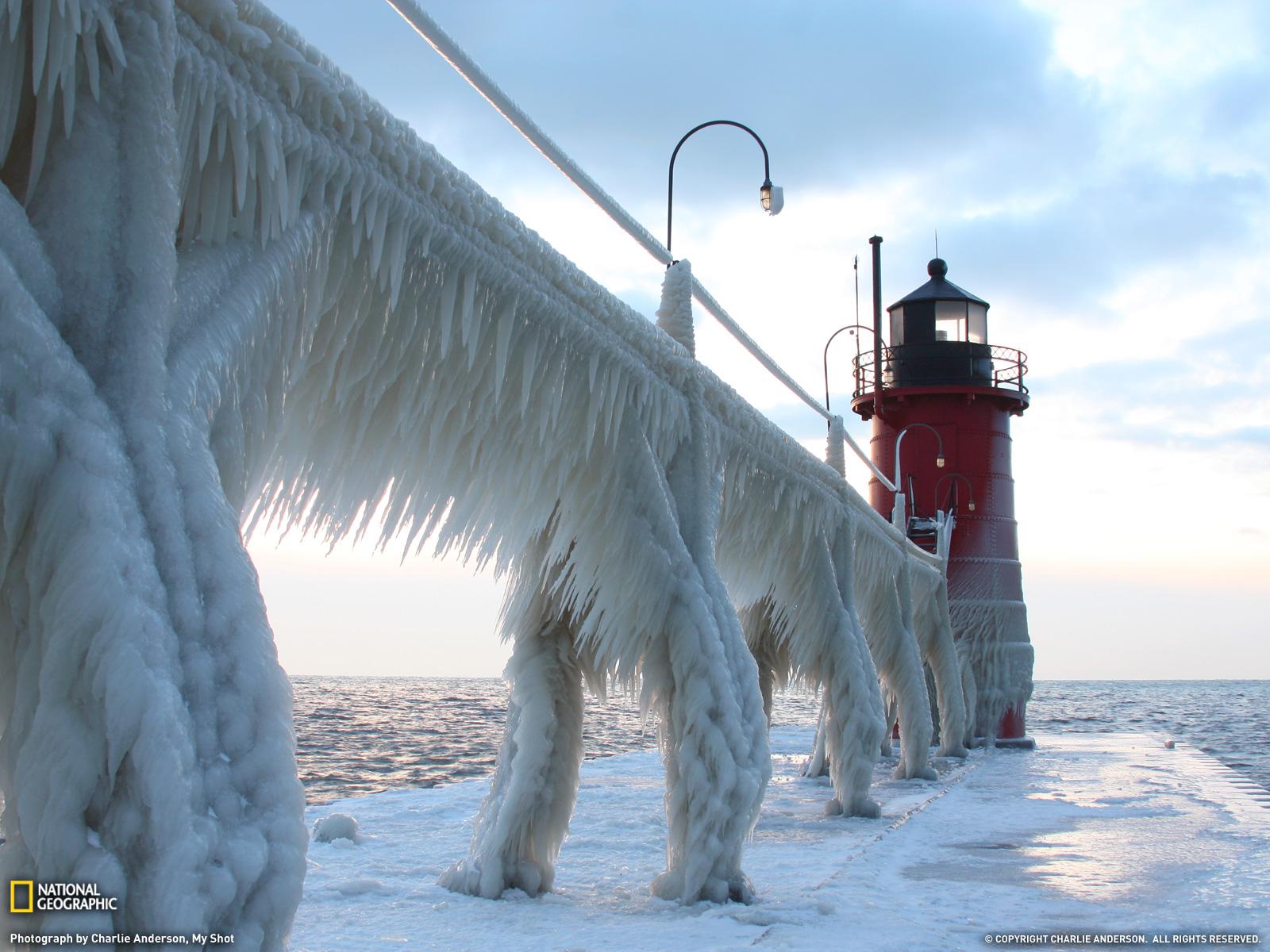 Michigan Photo Winter Wallpaper National Geographic Photo of 1600x1200