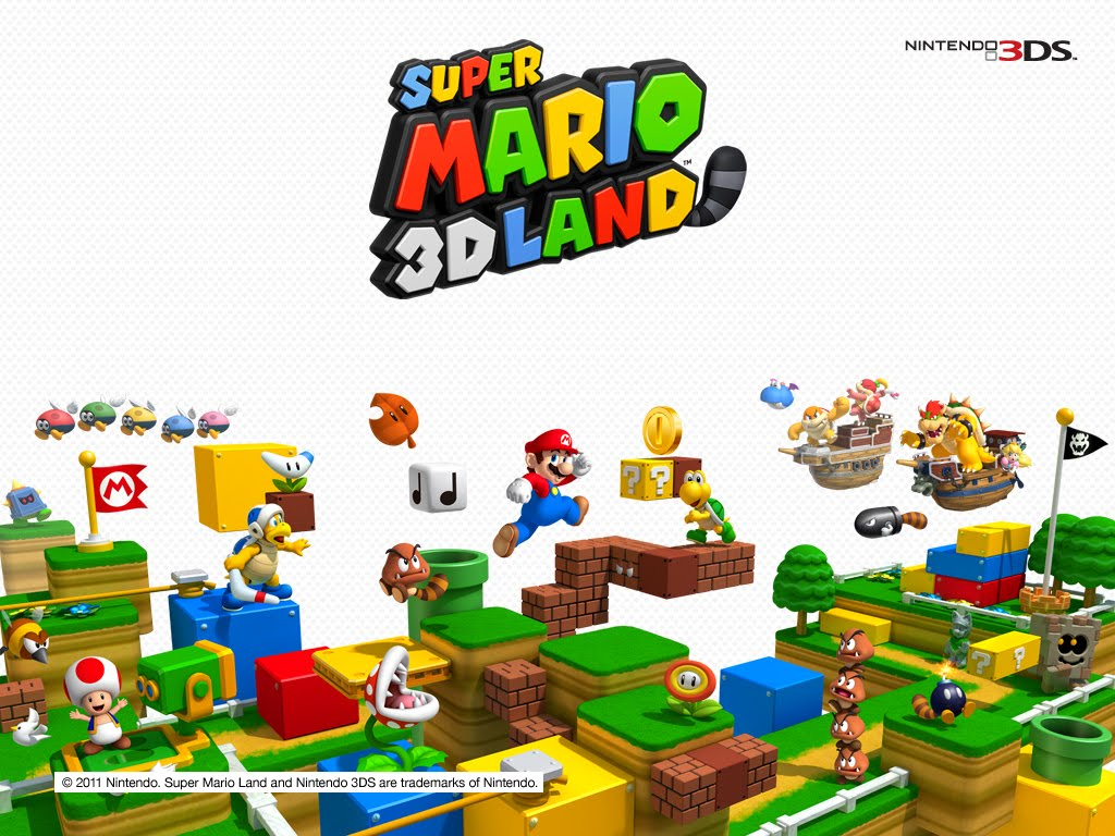 SUPER MARIO 3D LAND VIDEOGAME WALLPAPERS VIZIO BLOG 1024x768