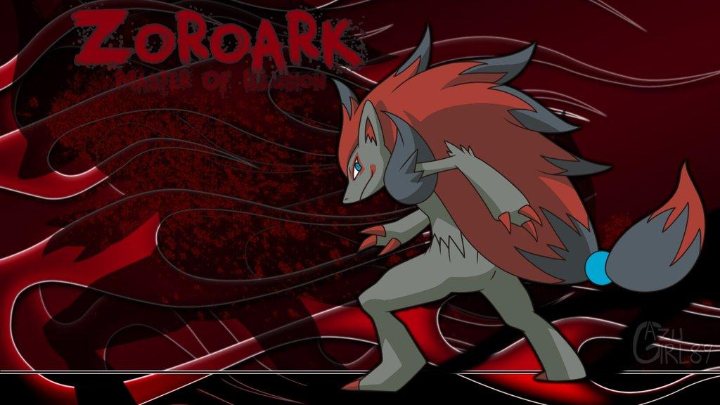 N Zoroark Zoroark Wallpaper - Wa...