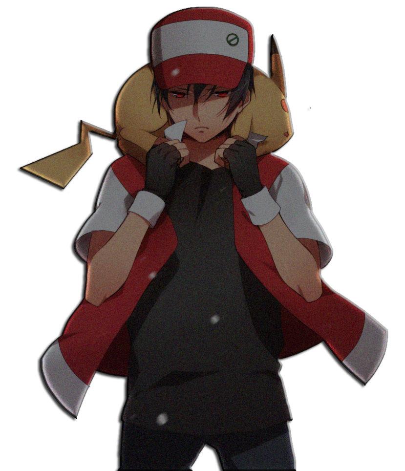 Pokemon Trainer Red Wallpaper - WallpaperSafari