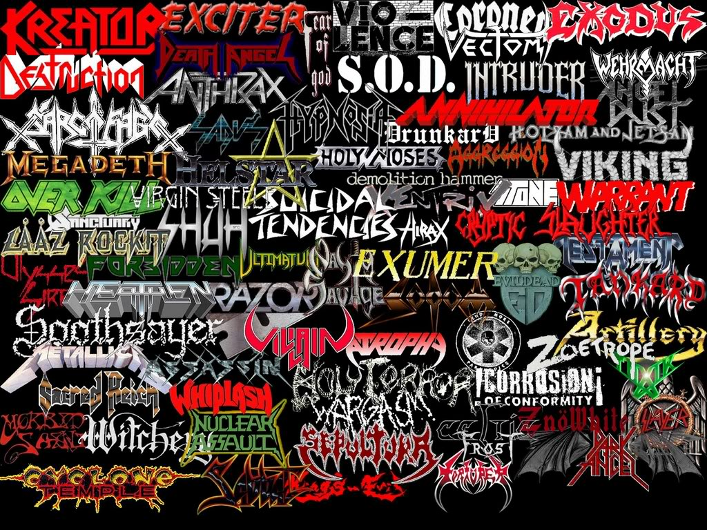 Thrash Metal Wallpaper WallpaperSafari