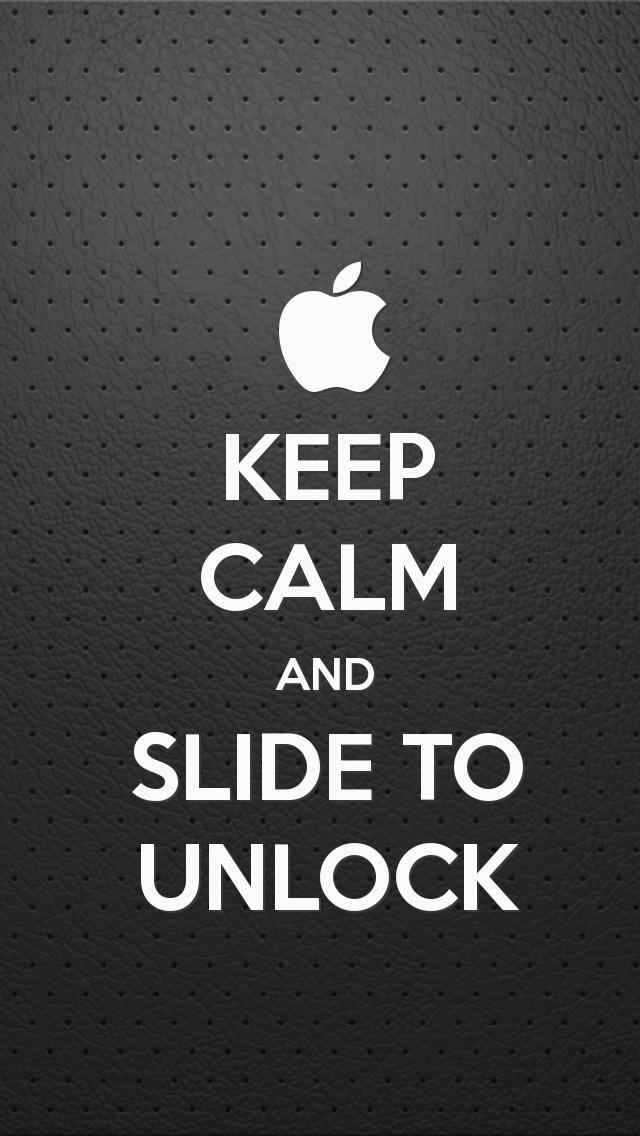 Keep calm and Slide to Unlock HD Keep calm Wallpapers for iPhone 5 640x1136
