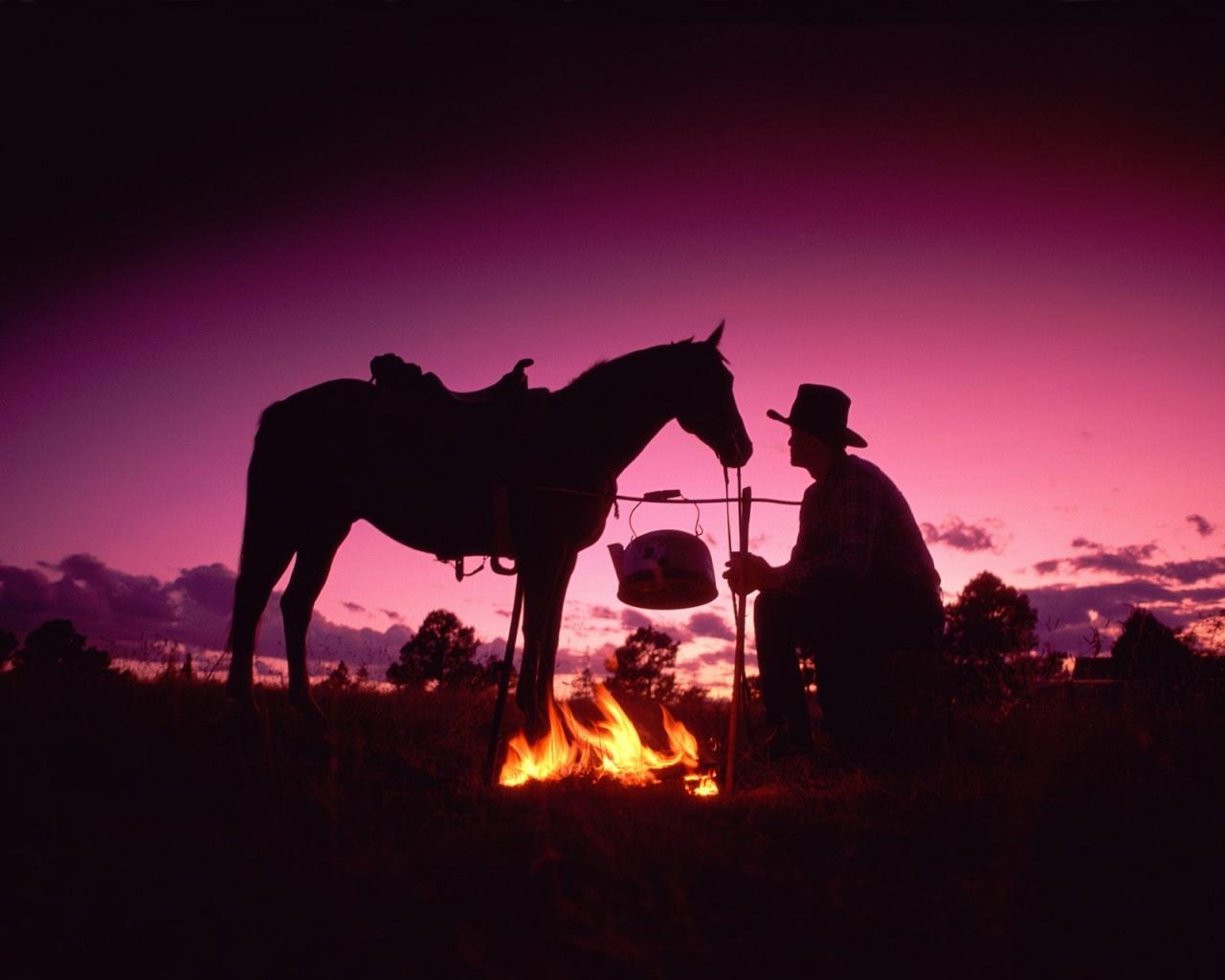 Wallpaper Stock Cowboy Movie 1280x1024