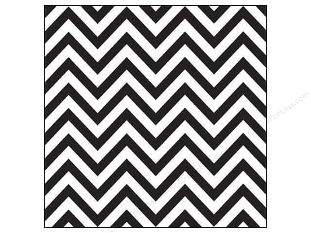Canvas Corp Paper 12x 12 Black White Chevron 15 pieces 640x480