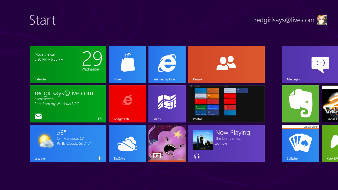 home screen style and utility 1366x768