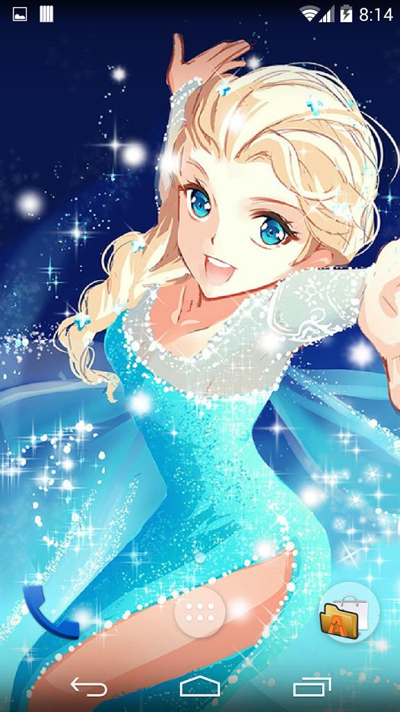 Frozen Blizzard Live WallpaperGratis Wallpaper 576x1024