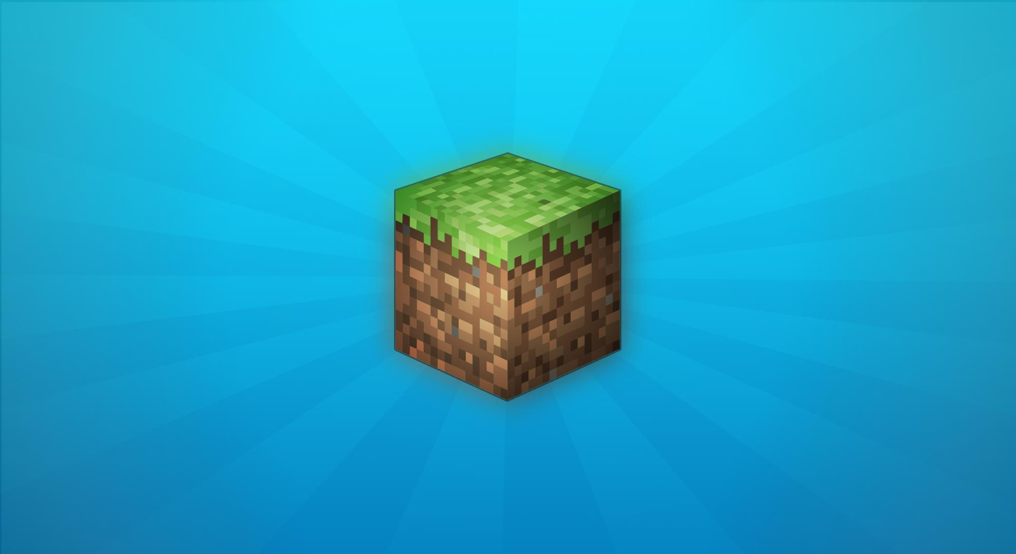 Back Gallery For Minecraft Grass Block Wallpaper 1980x1080