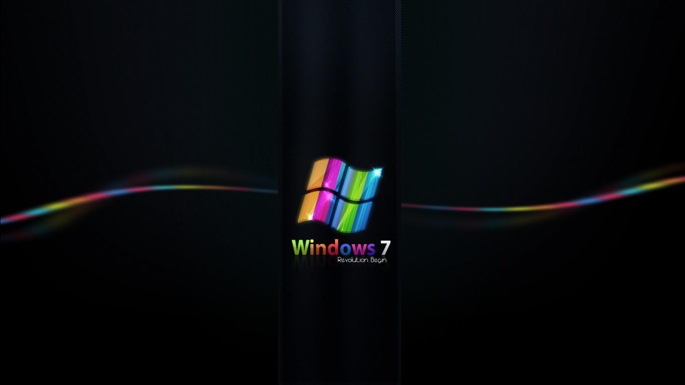 1366x768 Desktop Wallpaper High Quality: Windows 7 Wallpaper 1366x768