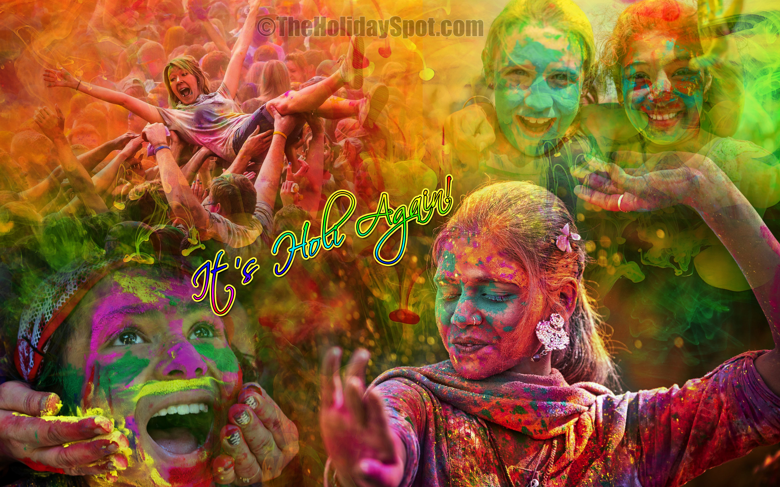 Holi 2019   Holi HD Wallpapers Holi Images 2560x1600
