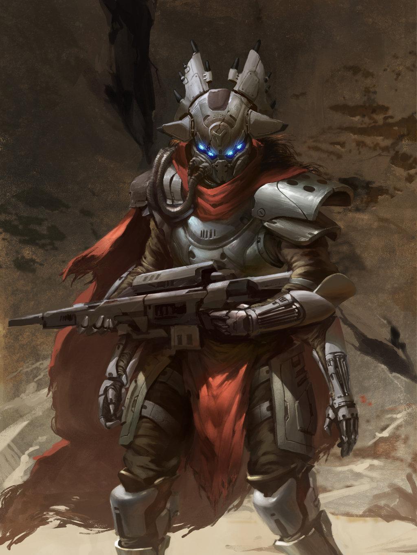 Fallen Captain  Destiny by SavoryBaconist 1024x1365