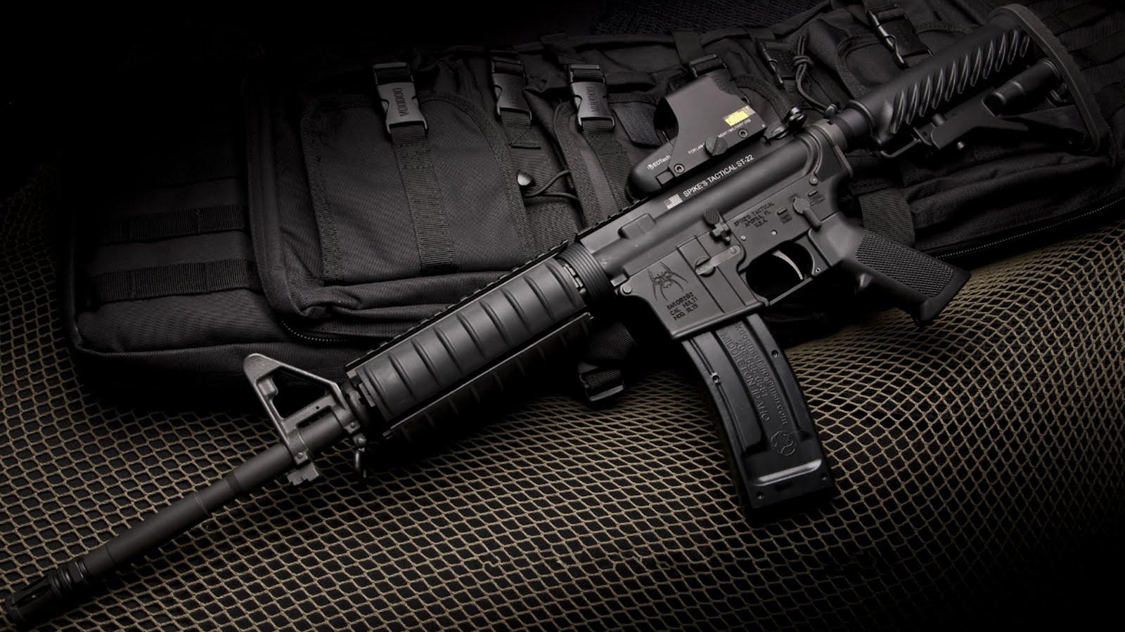 guns wallpapers guns guns images 2013 HD M16 Rifle Wallpapers 1600x900