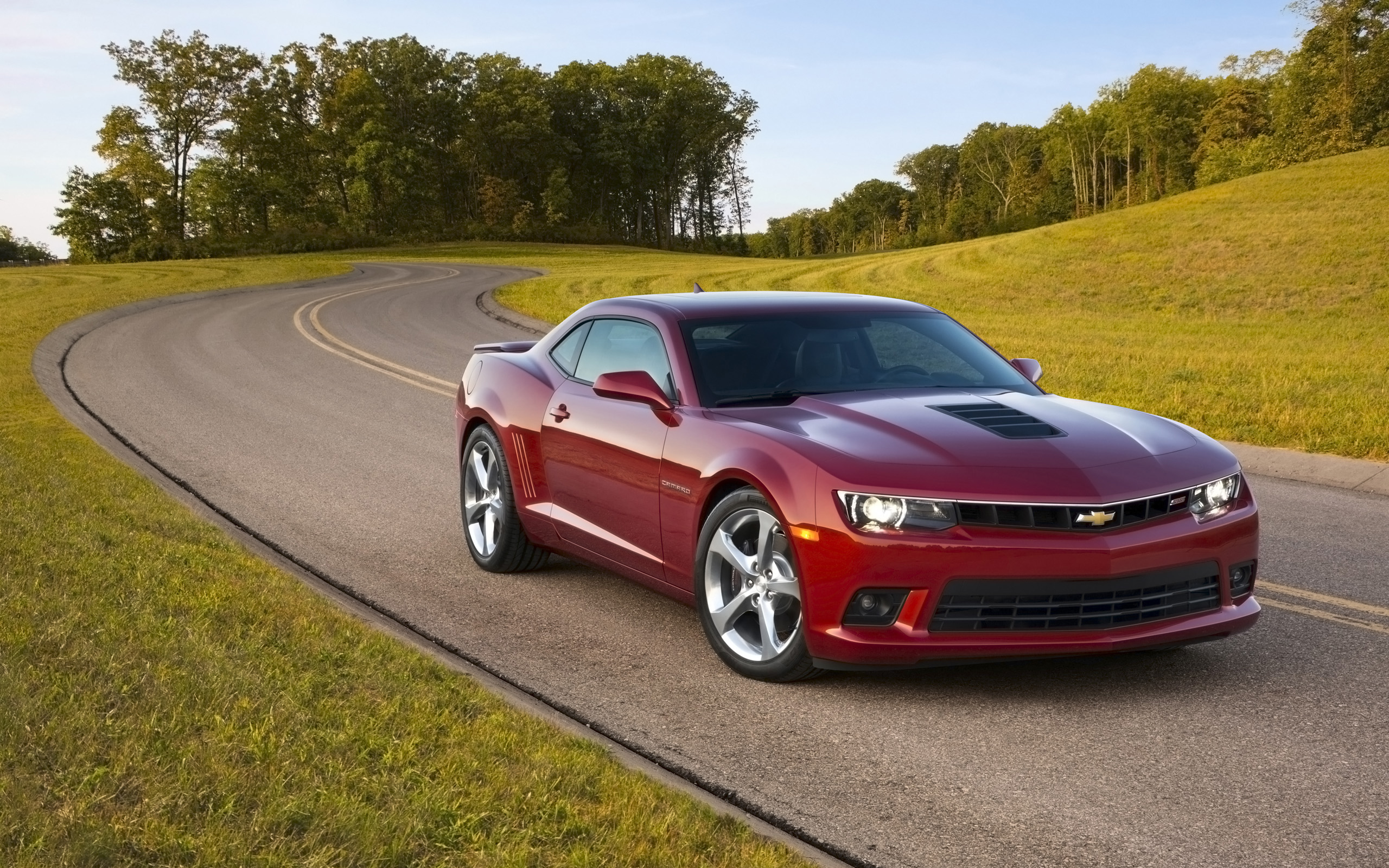 2015 Chevrolet Camaro SS Coupe Wallpaper HD Car Wallpapers 2560x1600
