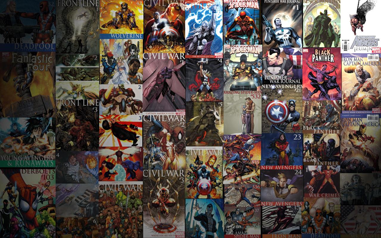 76 Marvel Comics Wallpaper On Wallpapersafari