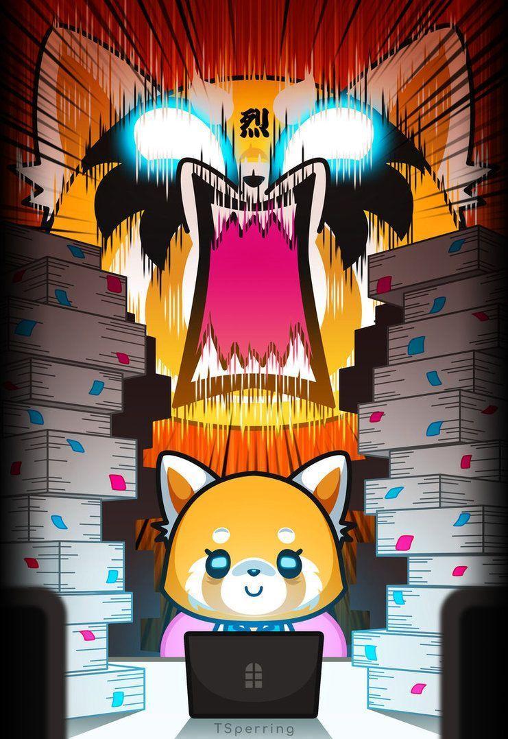 4k Aggretsuko Wallpaper   Wallpaper Hook 741x1077