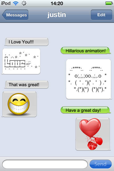 Emoji Text Pic HD Wallpaper Jokes Meet New friends   iPhone 400x600