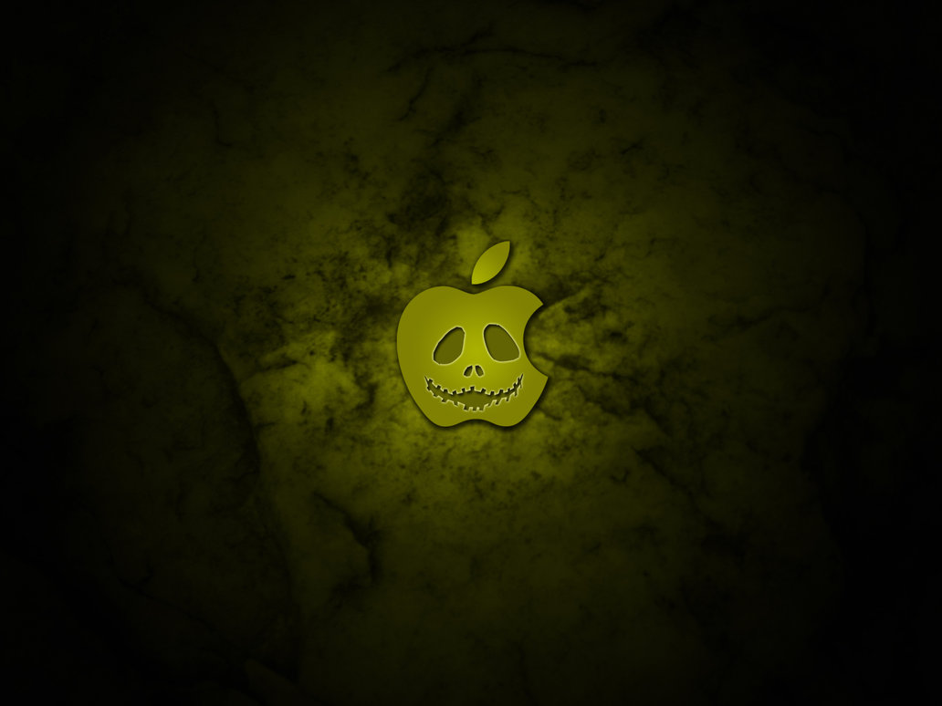Halloween Desktop Wallpaper Apple 1032x774
